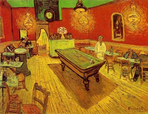 """""""The Night Cafe"""" by Vincent van Gogh"""